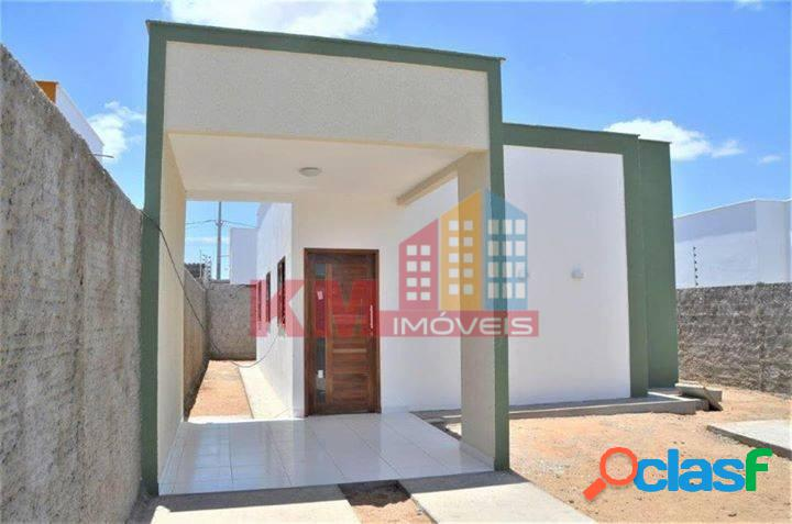 Vende-se lindas casas no Loteamento Alto das Brisas Mossoró