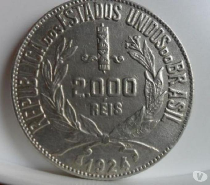 Vendo 10 Quilos de moedas de prata 1924 a 1938 Compro