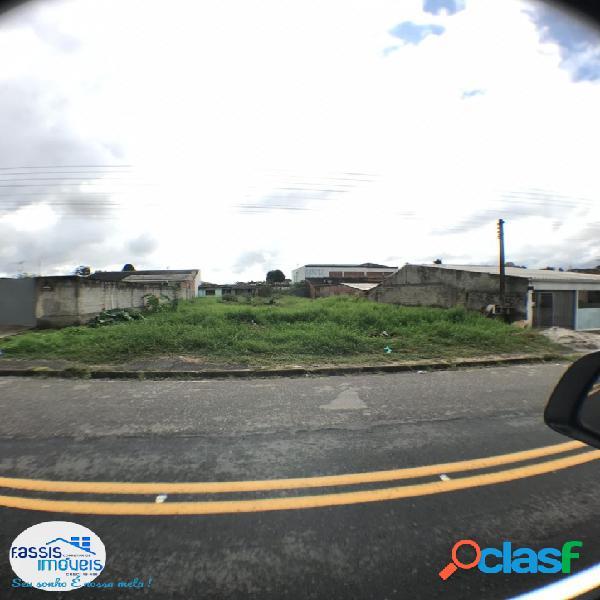 terreno plano murado no asfalto ótimo para construção