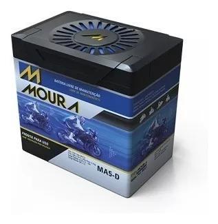 Bateria Moto Moura Cg Titan Fan 125 -150 Ma5-d 5 Amperes