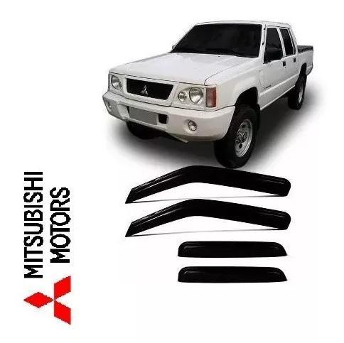 Calha De Chuva Mitsubishi L200 Gls 4 Portas 1993 A 2007