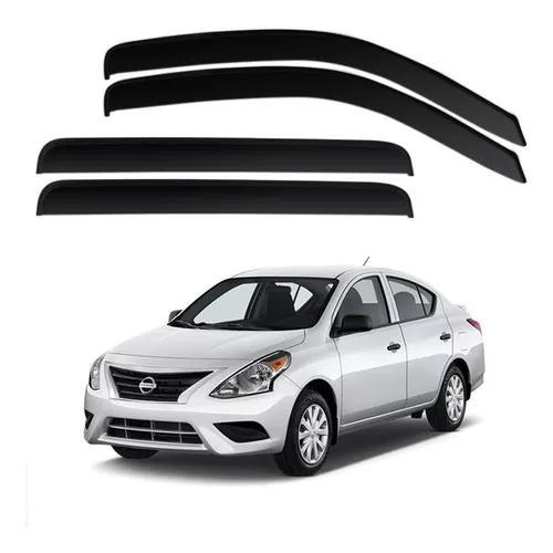 Calha Defletor Chuva Nissan Versa 11/17 - 4 Portas - Ecoflex