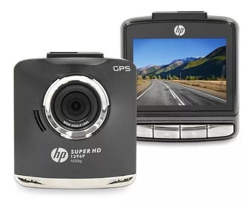 Camera Filmadora Veicular Tacografo Gps Super Hd 2k Hp F520g