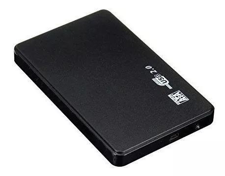 Case Usb 2.0 Sata 2,5 P/ Ssd Externo Hd Notebook Gaveta
