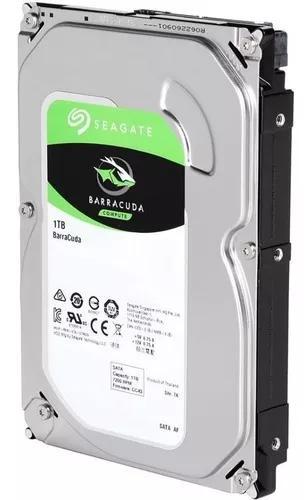 Hd 1tb Barracuda Sata3 3,5 Seagate Interno Pc E Dvr Desktop