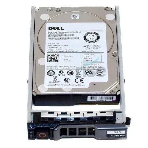 Hd Dell Sas 2.5 1.2tb 10k 6gbs Enterprise St1200mm0007
