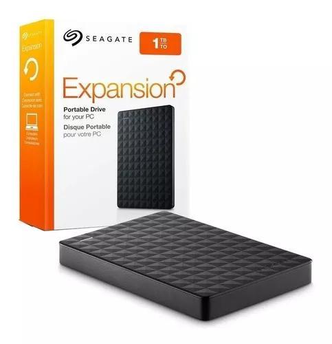 Hd Externo 1tb Seagate Expansion 1000gb Portatil 3.0 Xbox Pc