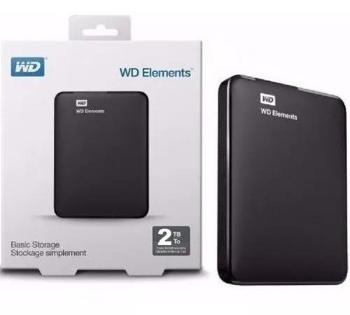 Hd Externo 2tb De Bolso Western Digital Wd Usb 3.0 Usb 2.0