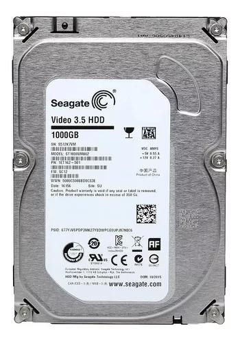 Hd Seagate Video 1 Tb Dvr Com Garantia Refurbished