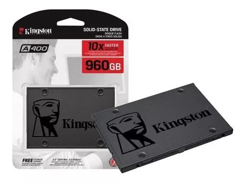 Hd Ssd 960gb Kingston A400 Sata 3 6gb/s Pc Note Novo Lacrado