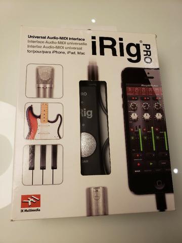 IRig Pro interface de audio