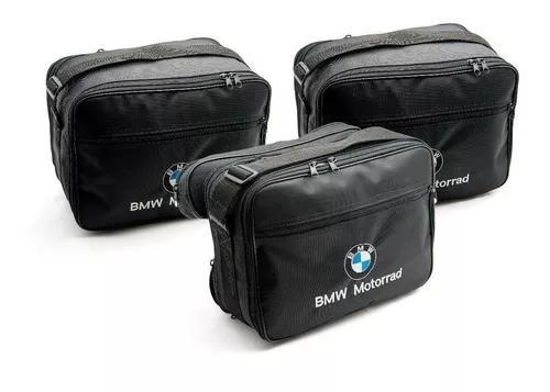 Kit 3 Malas Baús Laterais Top Case Moto Bmw Gs 800 1200