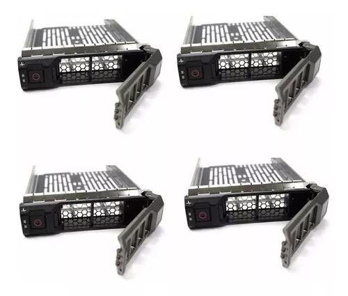 Kit 4 Gavetas Dell 3.5 Sas Sata F238f T310 T320 T410 R310