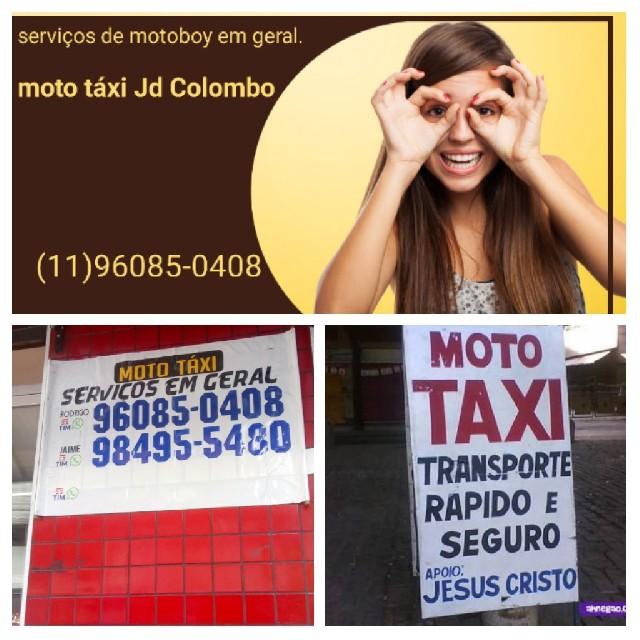 Moto táxi jd paraisópolis