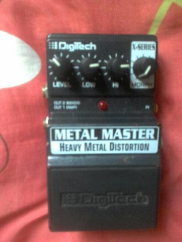 Pedal digitec metal master