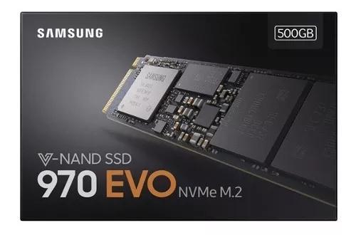 Samsung 970 Evo Plus Ssd M.2 2280 500gb Pcie Nvme 2019