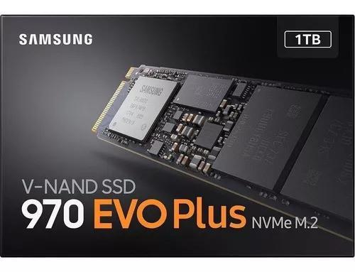 Sd Samsung 970 Evo Plus 1tb M.2, Leitura 3500mb/s,