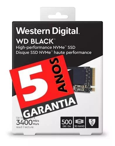 Ssd 500gb Wd Black M.2 Pcie Nvme 3d Nand - C/ Nota Fiscal