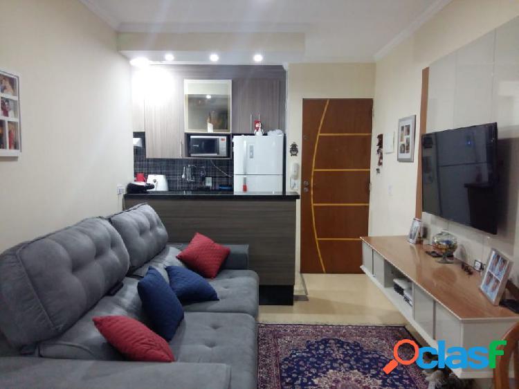 Apartamento 2 Dormitórios 49 m² com sacada - Apartamento a