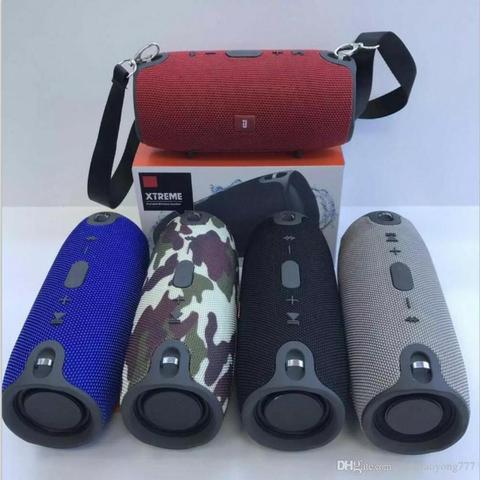 Caixa Mini Xtreme JBL Bluetooth, Cartão SD, Pendrive e FM