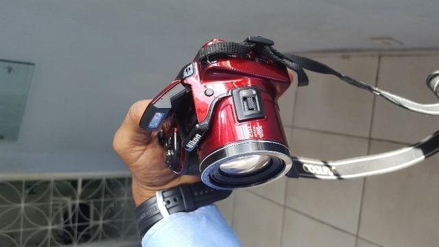 Camera Nikon Coolpix L810 Para Retirada De Peças Com