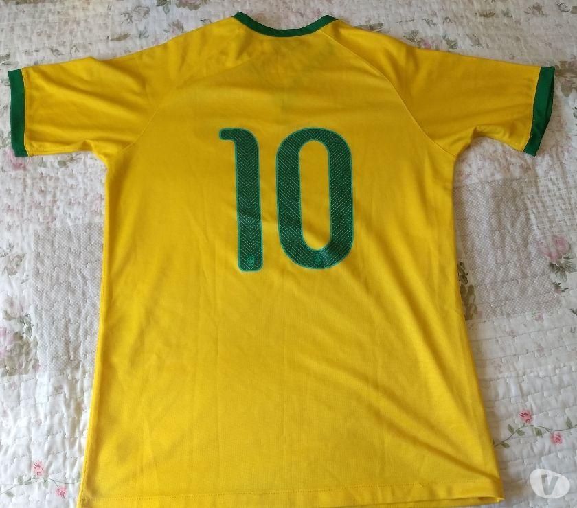 Camisa de futebol seleção brasileira