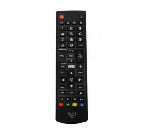 Controle Remoto Duo P/ Tv Smart 3d Marcas Lg Samsung Tecla