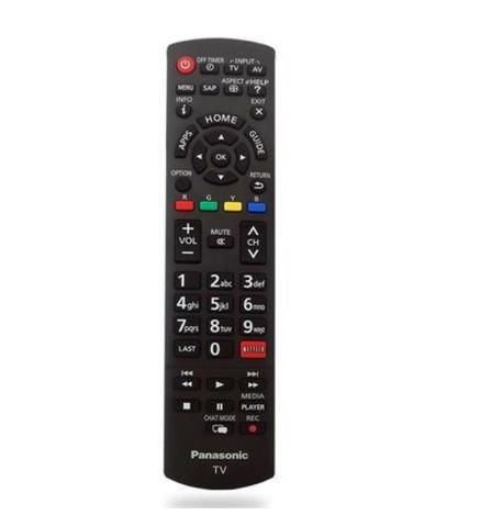 Controle Remoto Para Tv Panasonic Viera Lcd / Led Tnq2b