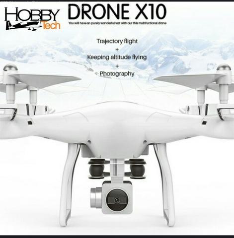 Drone Smrc S-10 Fpv - Completo Pronto Pra Usar