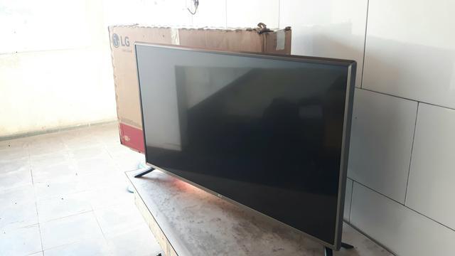 Smart TV LED 43 Ultra HD 4K LG com Sistema WebOS 3.5, Wi-Fi,
