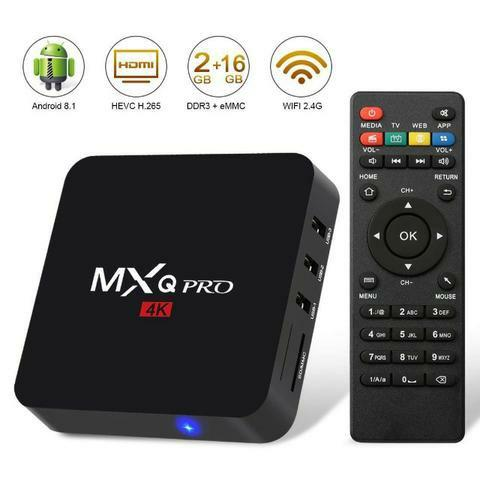 Tv Box 2 GB Transforme sua TV em smart TV