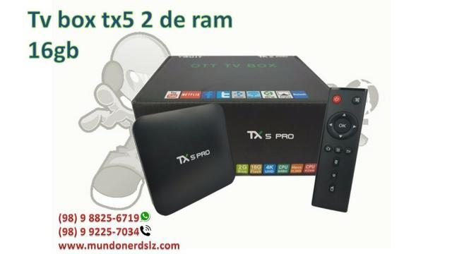 Tv Box Tx5 Pro 2gb 16gb Wifi Youtube Netflix em são luis ma