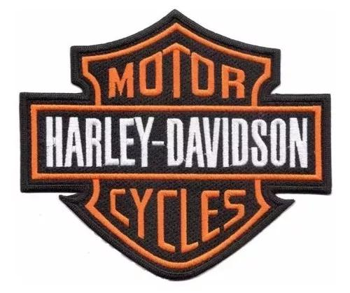 Bordado Harley Davidson Kit 03 Patch 25cm Por 21cm.