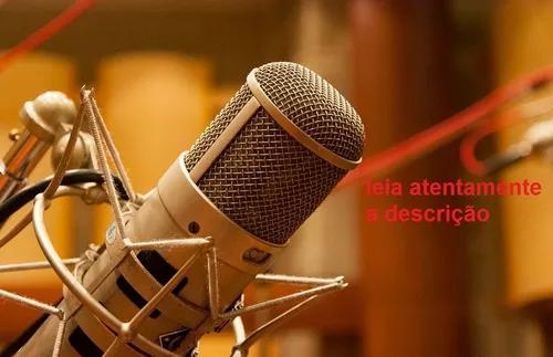 Gravação De Vinhetas Para Carro De Som, Web Rádio,