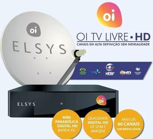 Habilitação Oi Tv Livre Bedin / Elsys Para Todo Brasil