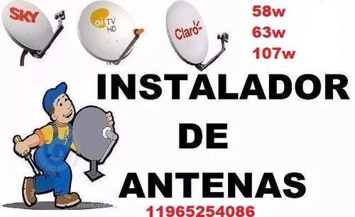 Instalador De Antenas, São Paulo E Toda Região,