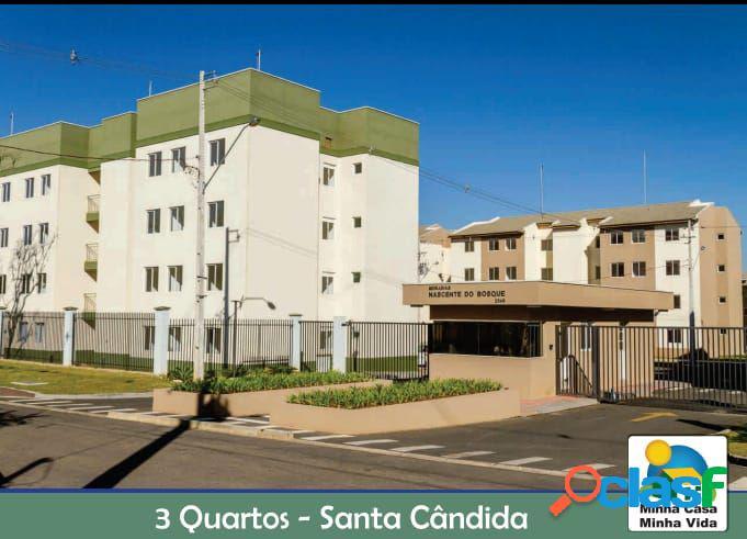 Apartamento 03 Dormitórios a Venda no Santa Cândida -