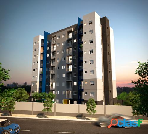 Apartamento de 1 e 2 dormitórios, com sacada e lazer -