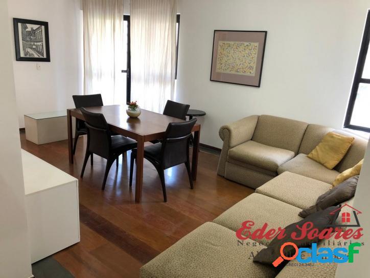 Apartamento semi mobiliado para locação