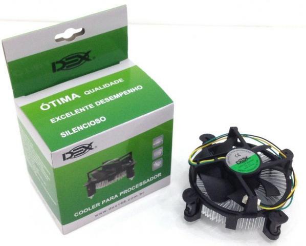Cooler P/Processador Intel Socket  Lga Dual Core