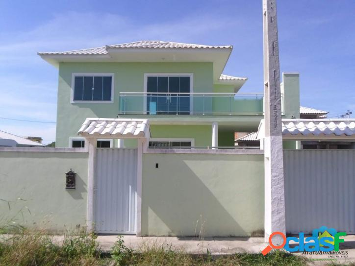 Linda casa nova duplex, com excelente acabamento.