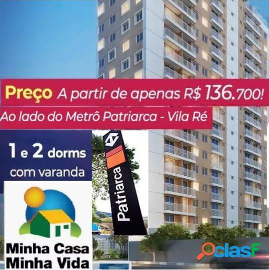 MINHA CASA MINHA VIDA C/ TERRAÇO, VAGA E LAZER COMPLETO. -