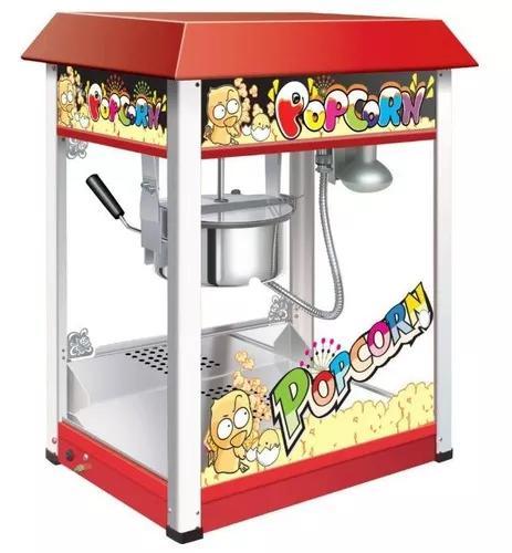 Maquina De Pipoca Pipoqueira Profissional Eletrica Popcorn