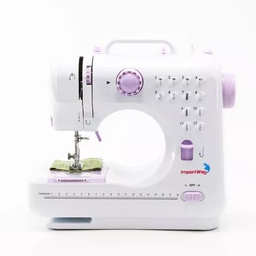 Máquina De Costura Portátil 12 Pontos 505 Bivolt