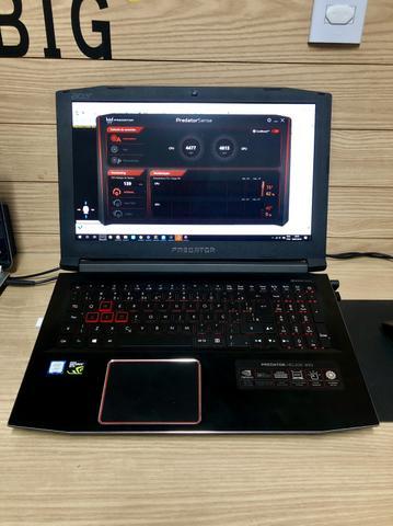 Notebook Gamer Acer Predator i7 16GB 2TB Geforce GtxGB