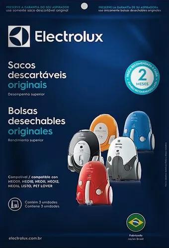 Saco Desc Aspirador Electrolux Neo, Listo