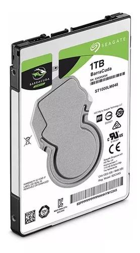 Hd 1 Tera Notebook Sata 6gbs Seagate Barracuda St1000lm048