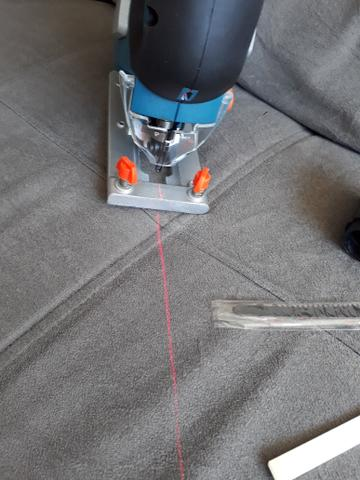 Serra tico tico 710w bosch profissional com laser
