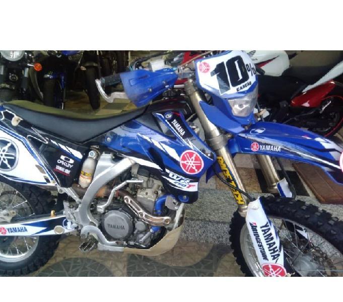 WR 250 azul 2007 moto muito nova e revisada R$18.500