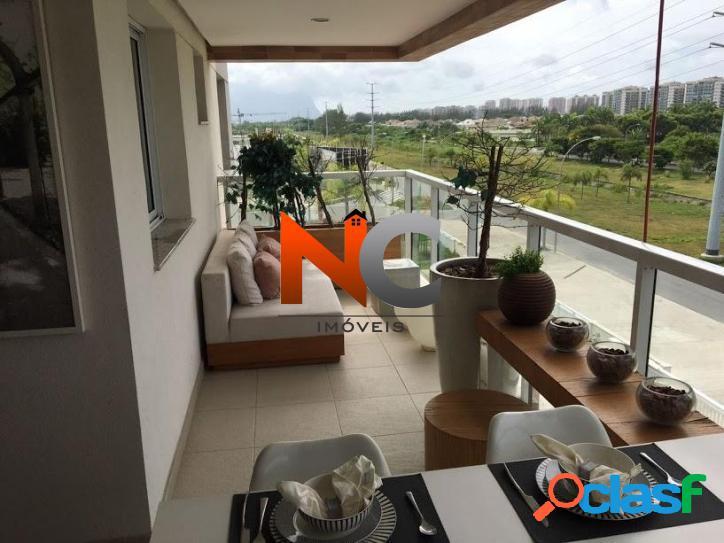 Apartamento com 3 dorms, Barra da Tijuca, Rio de Janeiro -